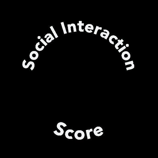 animated text around score